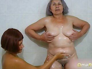 Amateur videos with willing matures in compilation video collection