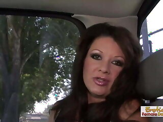 41 year old cougar can't get enough of big black cocks