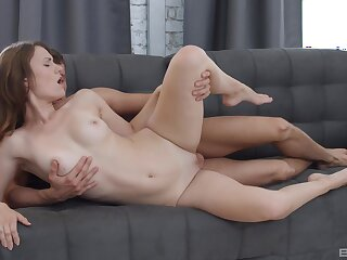 Stunning Sofy Topp takes on a big dick with the addition of loves every moment