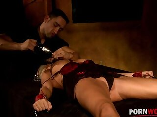 Hardcore BDSM domination be fitting of Winni leads to must-see quartering & shacking up GP1198