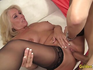 Guileful Mature Crystal Taylor Fucked Hard